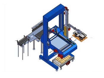 Palletizer working principle