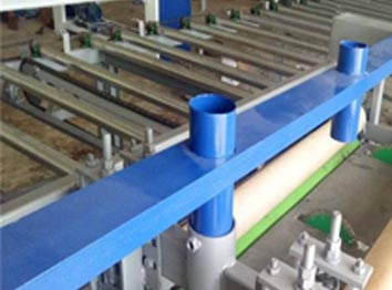 gypsum cutting machine product description and advantage of line